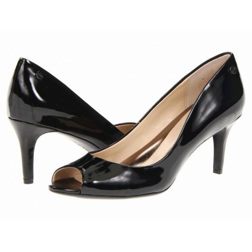 Giày Pump Calvin Klein Da Hở Mũi Hàng Hiệu