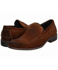 Giày Tây Lười Steve Madden Nam Nâu Da Lộn Blaike