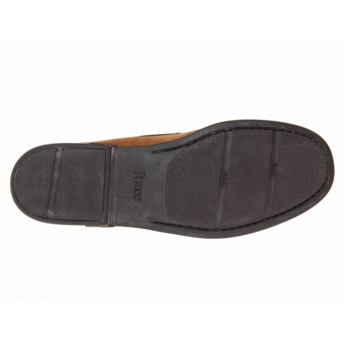 Giày Moca Da Lộn Bass Nam Bleaker Cao Cấp
