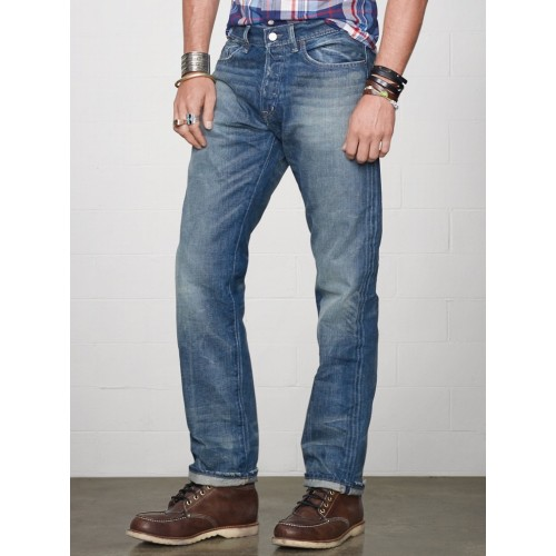Quần Jean Hàng Hiệu Denim & Supply Nam Straight-Fit Traverse