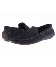 Giày Lười Da Lộn ALDO Xanh Đen Sointu Cao Cấp Size 41