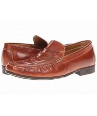 Giày Lười Nam Johnston & Murphy Cresswell Da Nâu Size 41