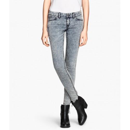 Quần Jeans Nữ HM Dáng Slim Wash Đẹp Size 26
