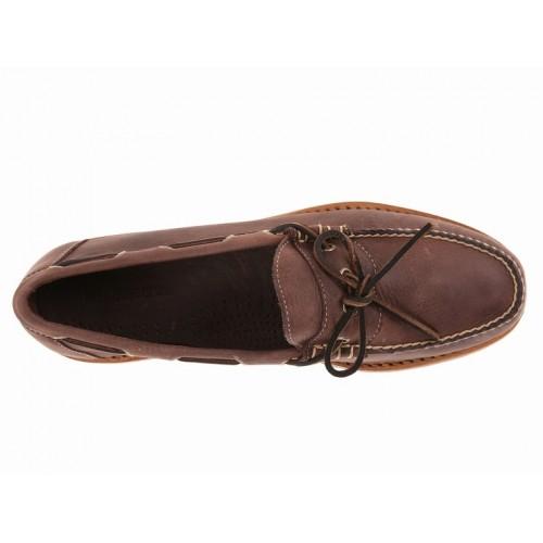 Giày Moca Nam Bass Harmon Da Tự Nhiên Cao Cấp