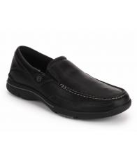 Giày Lười Rockport Nam Eberdon Da Đen Cao Cấp Size 41