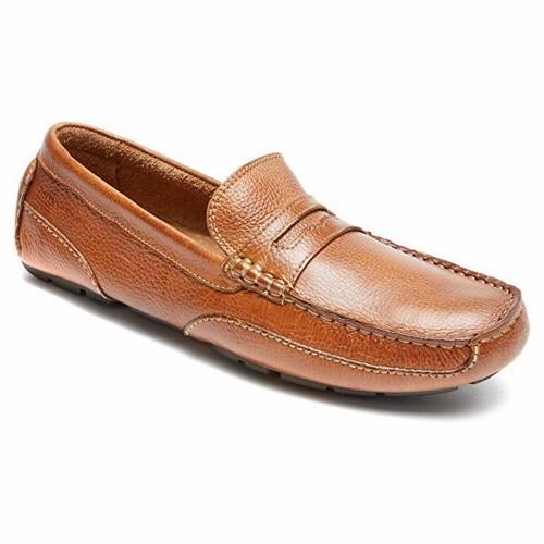 Giày Mọi Rockport Nam Oaklawn Da Cao Cấp
