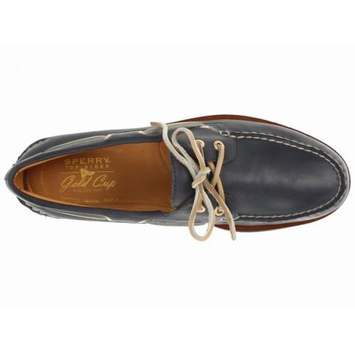 Giày Thuyền Nam Sperry Top-Sider Gold Da Cao Cấp Hàng Hiệu