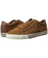 Giày Sneaker Polo Ralph Lauren Harvey Nam Da Lộn Cao Cấp