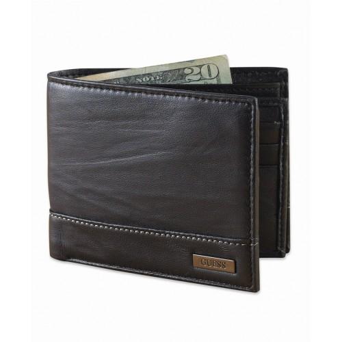 Bóp Nam Hàng Hiệu GUESS Leather Da Cao Cấp