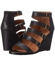 Giày Đế Xuồng Lucky Brand Reynolds Sandal Da Cao Cấp