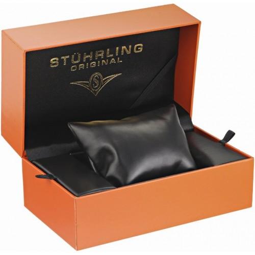 Đồng Hồ Stuhrling Original 683.03 Dây Vàng Kim Loại Đính Đá