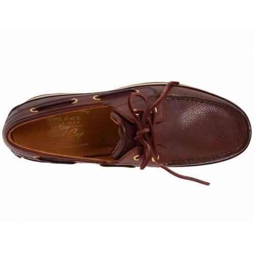 Giày Thuyền Nam Sperry Top-Sider Gold Da Tự Nhiên Cao Cấp