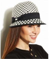 Mũ Phớt Nữ Calvin Klein Pattern Straw Chính Hãng