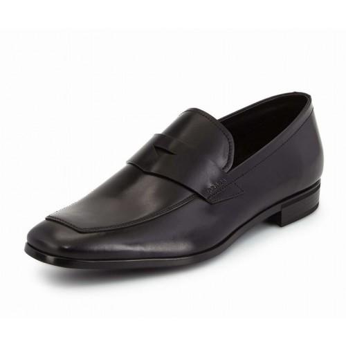 Giày Công Sở Prada Nam Da Loafer Xách Tay Chính Hãng