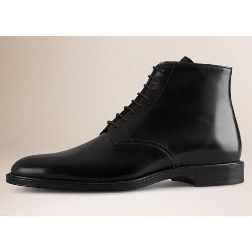 Giày Boot Burberry Leather Nam Chính Hãng
