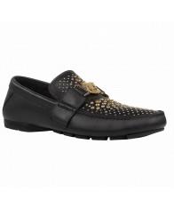Giày Mọi Nam Versace Studded Đế Âm Da Chính Hãng