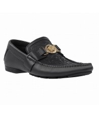 Giày Mọi Nam Versace Signature Đế Âm Cao Cấp