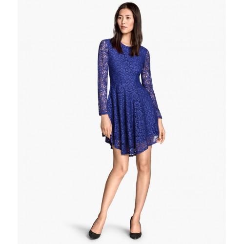 Đầm HM Nữ Lace Circle Trẻ Trung Hàng Hiệu