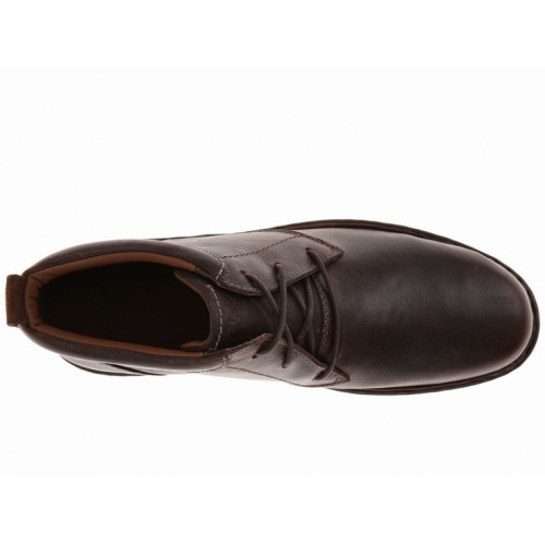 Giày Oxford Nam Clarks Stratton Limit Cao Cổ Da Cao Cấp