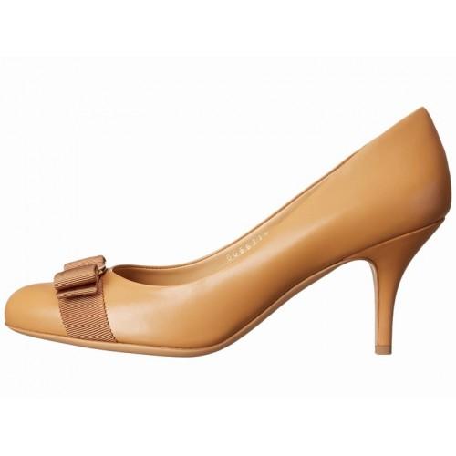 Giày Gót Thấp Nữ Salvatore Ferragamo Carla 70 Cao Cấp