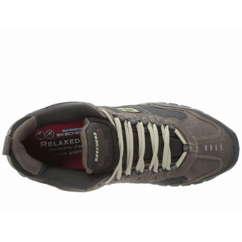 Giày Boot SKECHERS Work Soft Stride Nam Hàng Hiệu