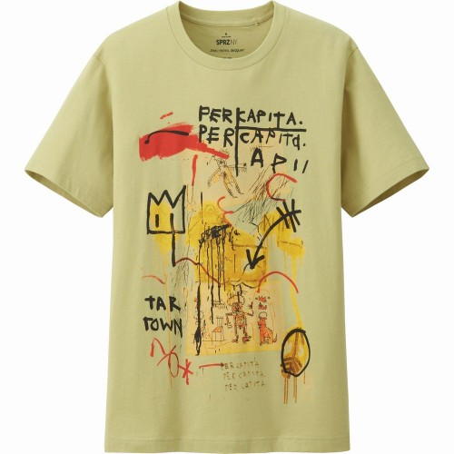 Áo Thun UNIQLO Nam Jean-Michel Basquiat Hàng Hiệu