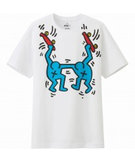 Áo Phông UNIQLO Nam Keith Haring Trắng Hàng Hiệu