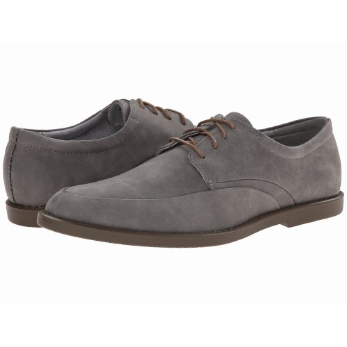 Giày Tây Da Lộn Calvin Klein Nam Flann Xám Cao Cấp