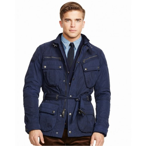 Áo Khoác Polo Ralph Lauren Nam Moto Belted Cao Cấp