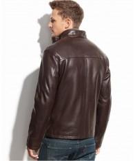 Áo Khoác Nam Cole Haan Smooth Leather Moto Chính Hãng