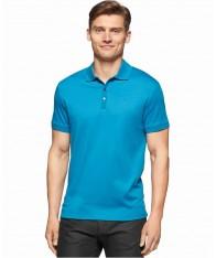 Áo Phông Nam Calvin Klein Pose Liquid Cotton Polo Cao Cấp