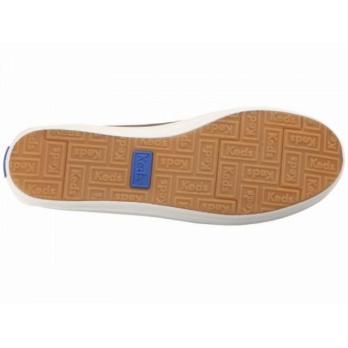 Giày Lười Nữ Keds Crashback Leather Da Hàng Hiệu