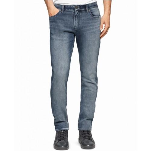 Quần Jean Nam Calvin Klein Jeans Slim Blue Wash Chính Hãng