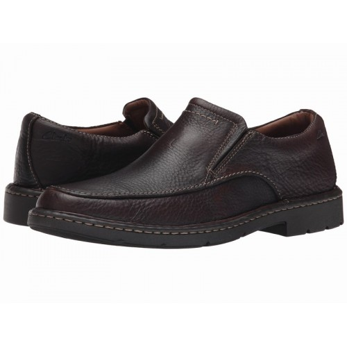 Giày Tây Lười Nam Clarks Stratton Easy Da Cao Cấp