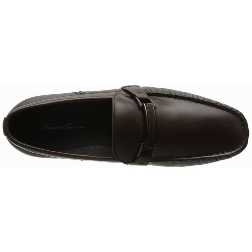 Giày Lười Da Kenneth Cole New York Nam Coney Is-land Nâu