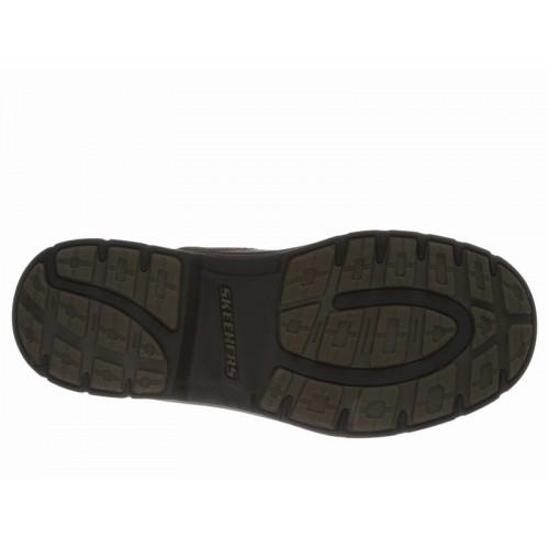 Giày Boot Da Nam SKECHERS Relaxed Fit Segment - Dorton Chính Hãng
