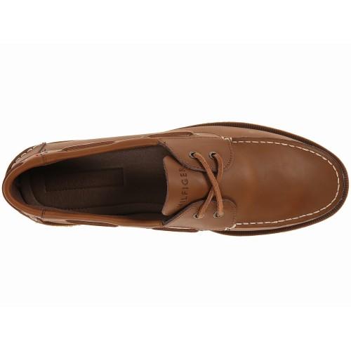 Giày Da Tommy Nam Bowman Da Nâu Tự Nhiên Cao Cấp