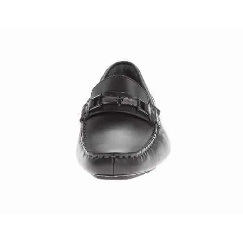 Giày Lười Calvin Klein Nam Magnus Da Đen Cao Cấp