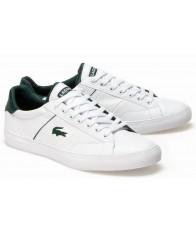 Giày Sneaker Nam Lacoste Fairlead Da Trắng Snm2 Cao Cấp
