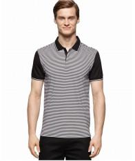 Áo Phông Nam Calvin Klein Feeder-Stripe Polo Xách Tay