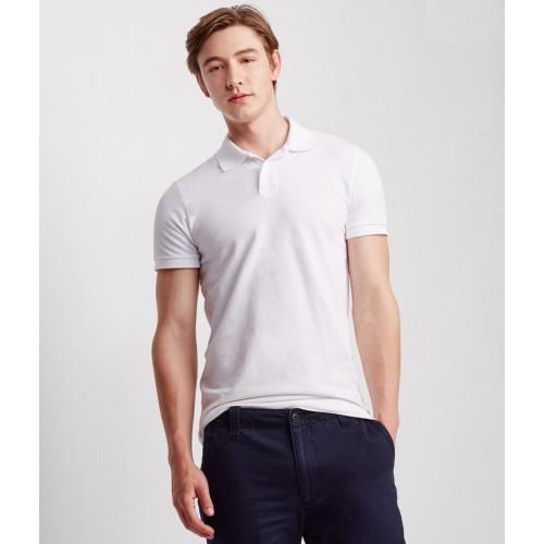 Áo Phông Nam Aero Solid Uniform Polo Trắng Hàng Hiệu