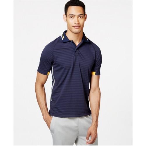 Áo Phông Nam Tommy Hilfiger Lee Texture-Stripe Polo Hàng Hiệu