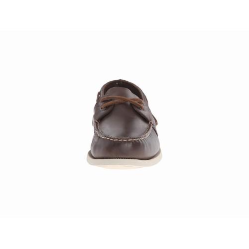 Giày Thuyền Da Nâu Sperry Top-Sider A/O 2-Eye Nam Hàng Hiệu
