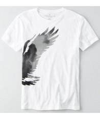 Áo Thun Nam American Eagle Signature Trắng Hàng Hiệu