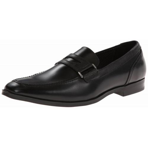 Giày Tây Lười Marc New York Worth Da Đen Cao Cấp