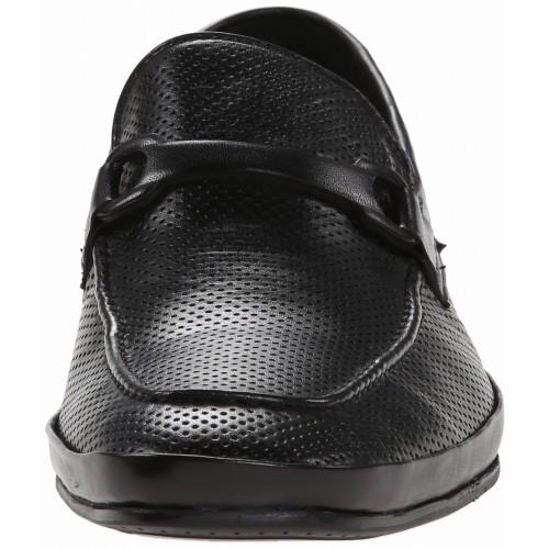 Giày Tây Lười Kenneth Cole Nam Optic Image Da Đen