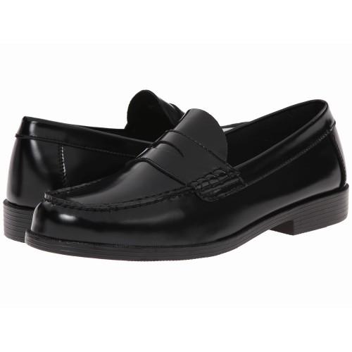 Giày Lười Nam Bass Walton Da Đen Hàng Hiệu