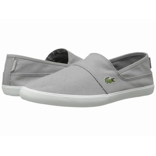 Giày Lười Vải Nam Lacoste Marice LCR Xám Xách Tay