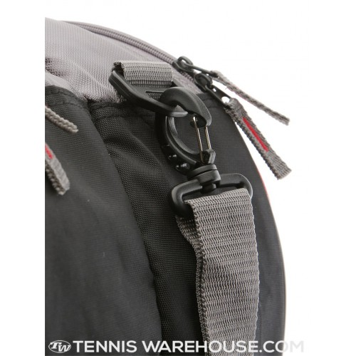 Túi Tennis Wilson Team Gunmetal/Red 6-Pack Xách Tay