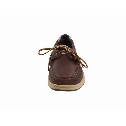 Giày Da Thể Thao Nam Sperry Top-Sider Nâu Lanyard 2 Cao Cấp